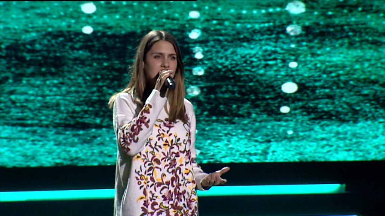 """Eurovisión 2019 - Eurotemazo: Ensayo general de Sabela cantando """"Hoy soñaré"""""""