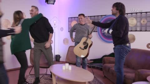 """Eurovisión 2019 - Sabela ensaya """"Hoy soñaré"""""""