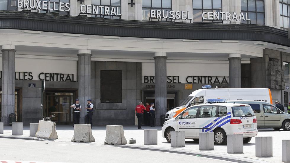 Evacuada la Gran Plaza y la Estación Central de Bruselas tras una supuesta explosión