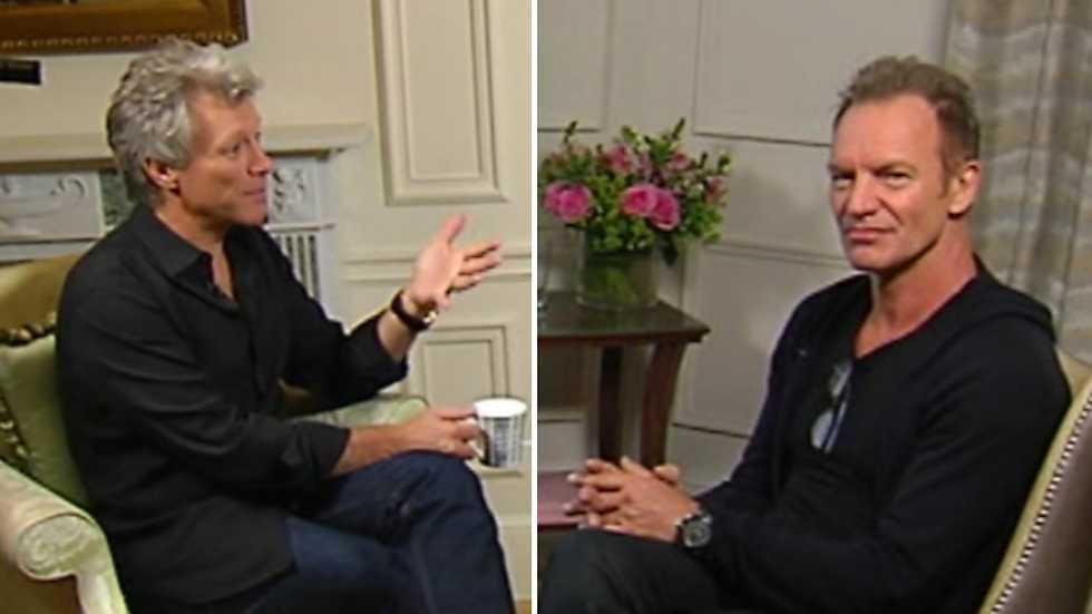 Informe Semanal - Exclusiva con Bon Jovi y Sting