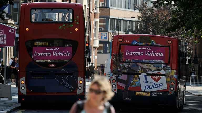 Éxito del transporte en Londres