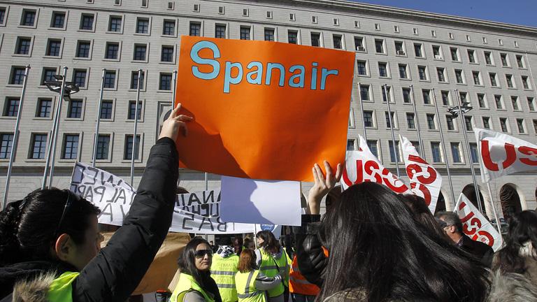 Explicaciones de la actuación de la Generalitat en Spanair