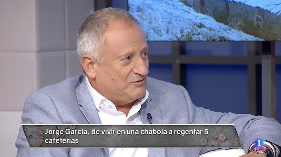 Os explicamos la historia de Jorge García, . Ha pasado de de vivir en una chabola a tener 5 cafeterías