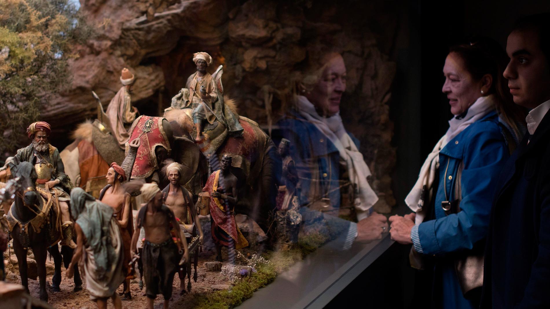 La exposición permanente de belenes más grande del mundo abre sus puertas en Molina, en Málaga