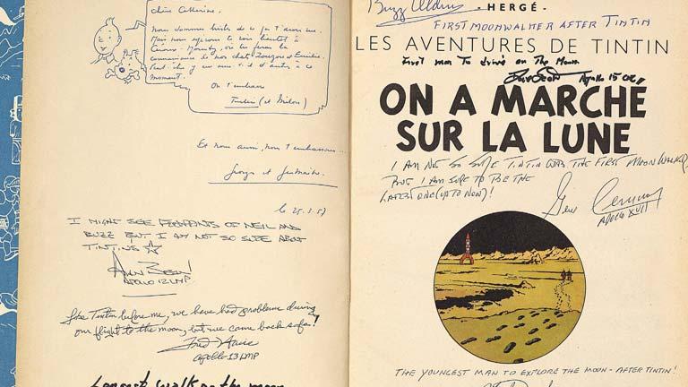 Los personajes de Tintin estaban basados en el mundo real