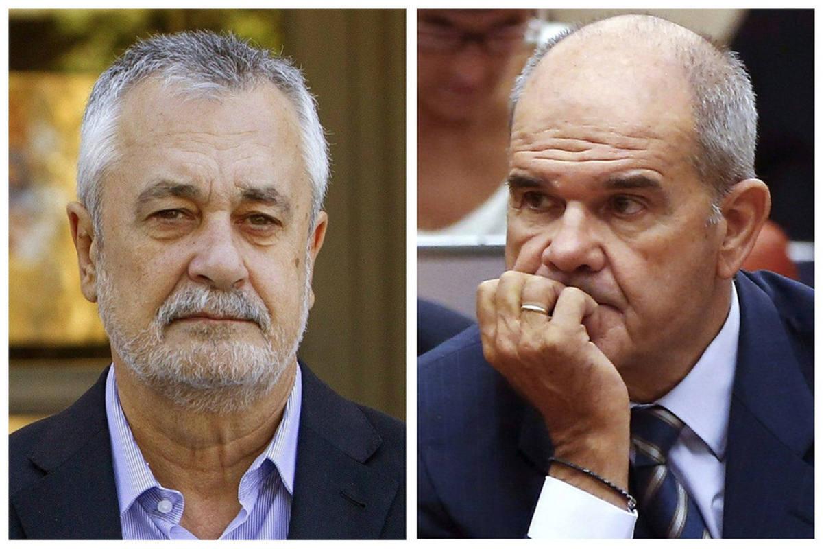 Los expresidentes Chaves y Griñán, imputados en el caso ERE