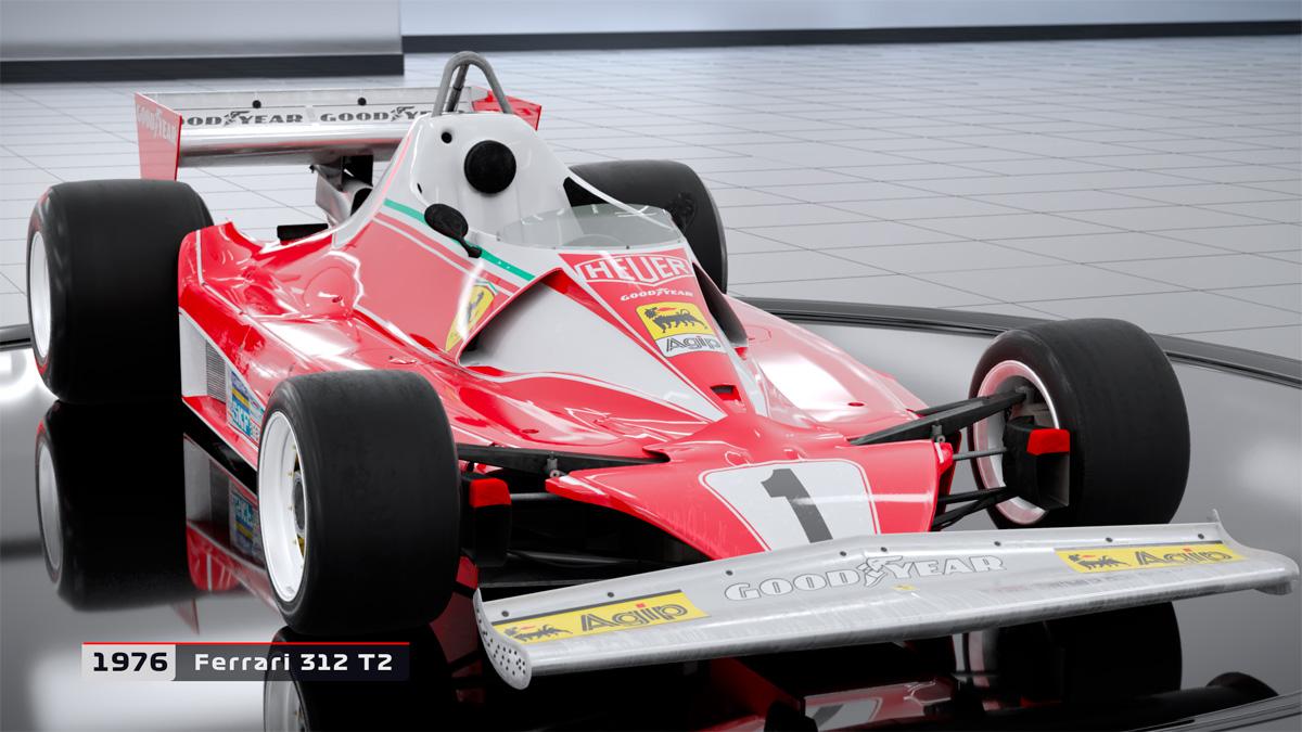 F1 2018 añade ocho coches clásicos