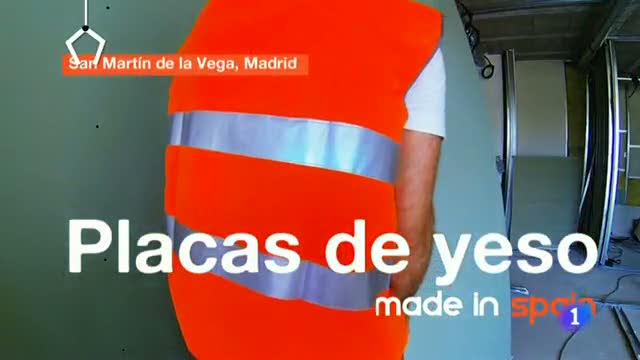Fabricando Made in Spain - Fabricamos placas de yeso