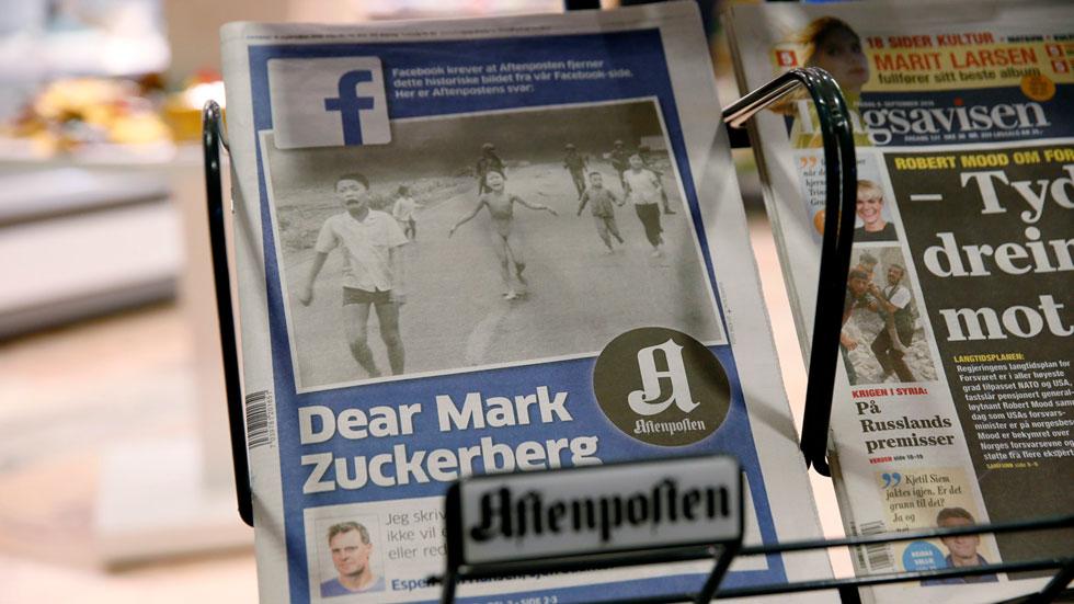 Facebook rectifica y levanta la censura sobre la icónica foto de la niña que huye de un ataque de napalm en Vietnam
