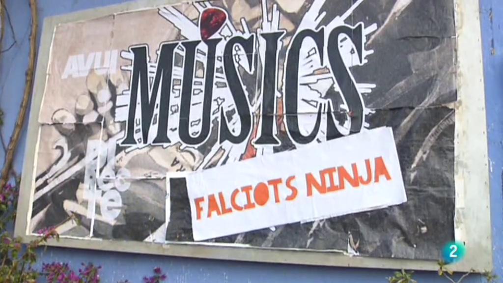Músics - Falciots Ninja