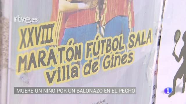 Fallece un menor al recibir un balonazo en el pecho mientras jugaba al fútbol