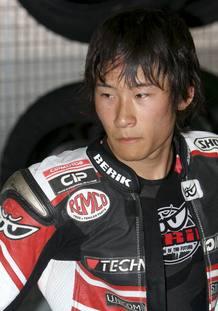 Fotografía de archivo (06/07/2010) del piloto japonés Shoya Tomizawa