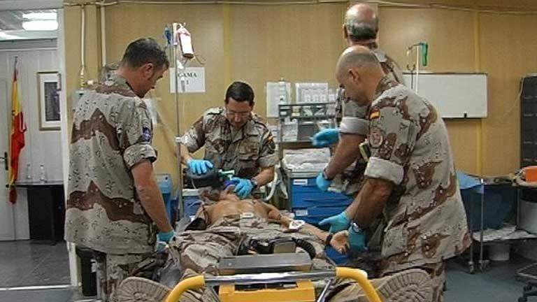 La falta de médicos agrava la situación de la sanidad militar