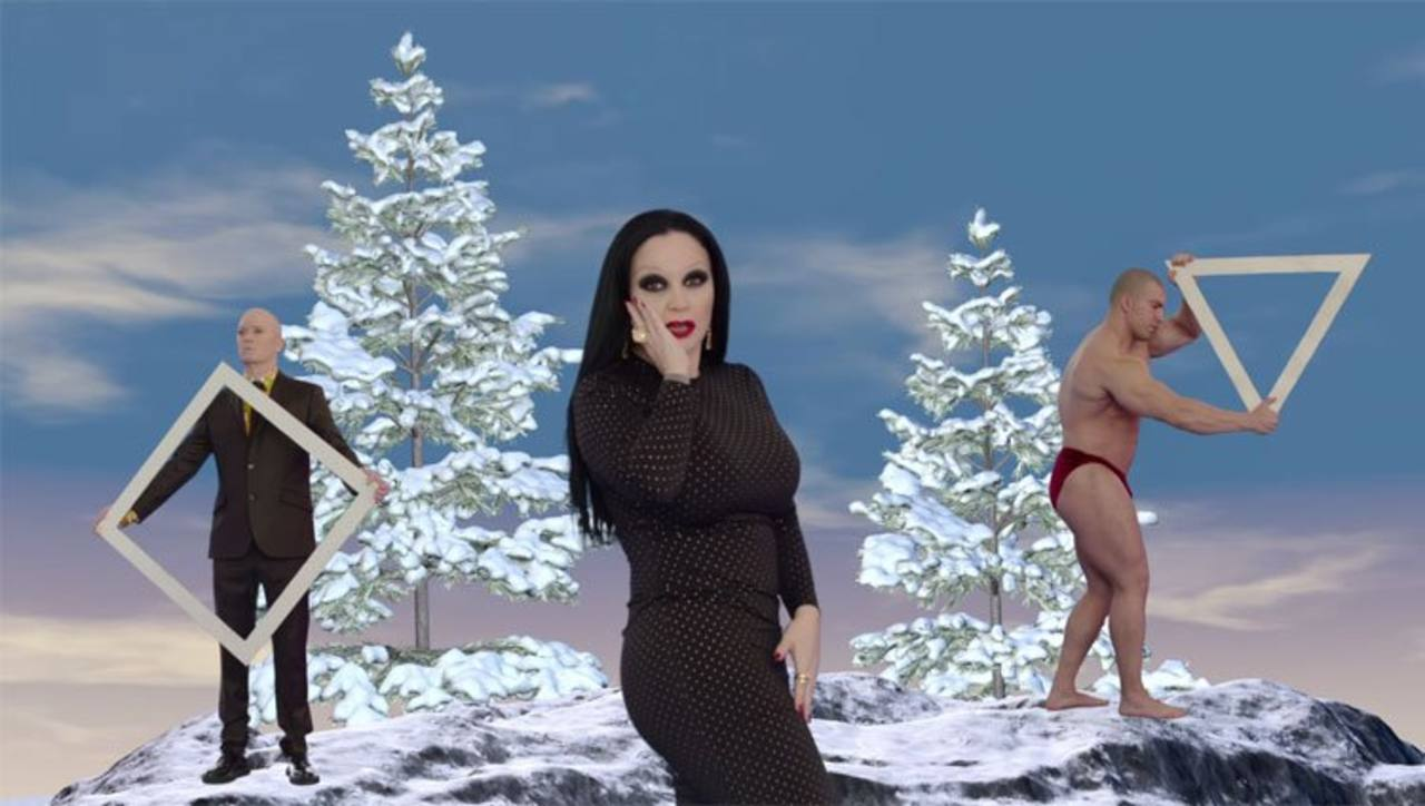 Fangoria en una imagen del vídeo de