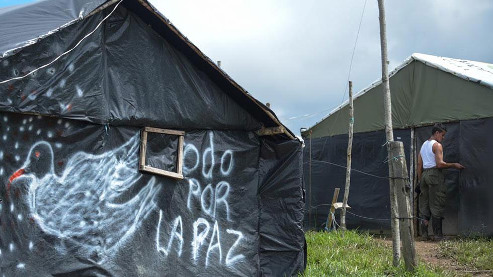 Las FARC entregan todas las armas, según la ONU