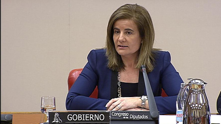 Fátima Báñez, ministra de Empleo, no desvela datos concretos sobre la reforma laboral
