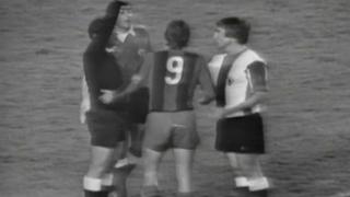 FC Barcelona - Hércules. Retransmisión del partido de liga 1976/1977