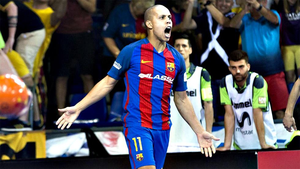 FC Barcelona Lassa decanta el tercer partido con un arranque mágico