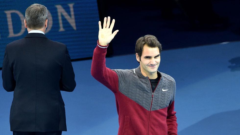 Federer se lesiona y Djokovic se lleva el Masters sin disputar la final
