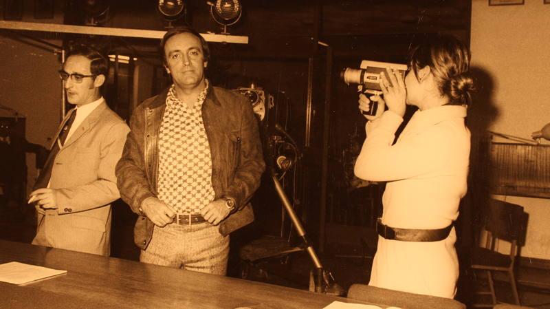 Félix Rodríguez de la Fuente, en una imagen de 1970 (Archivo CRUSAFONT)