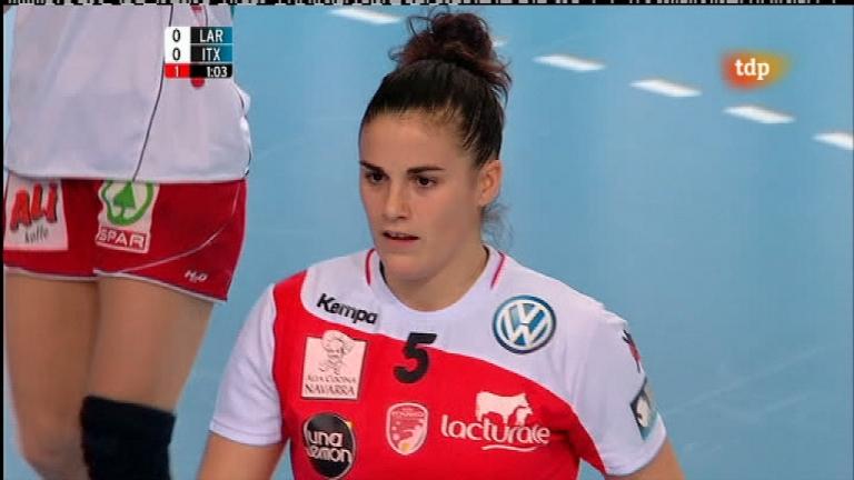 Balonmano - Liga de campeones femenina: Larvik - Grupo Asfi Itaxako Reyno de Navarra - 12/02/12