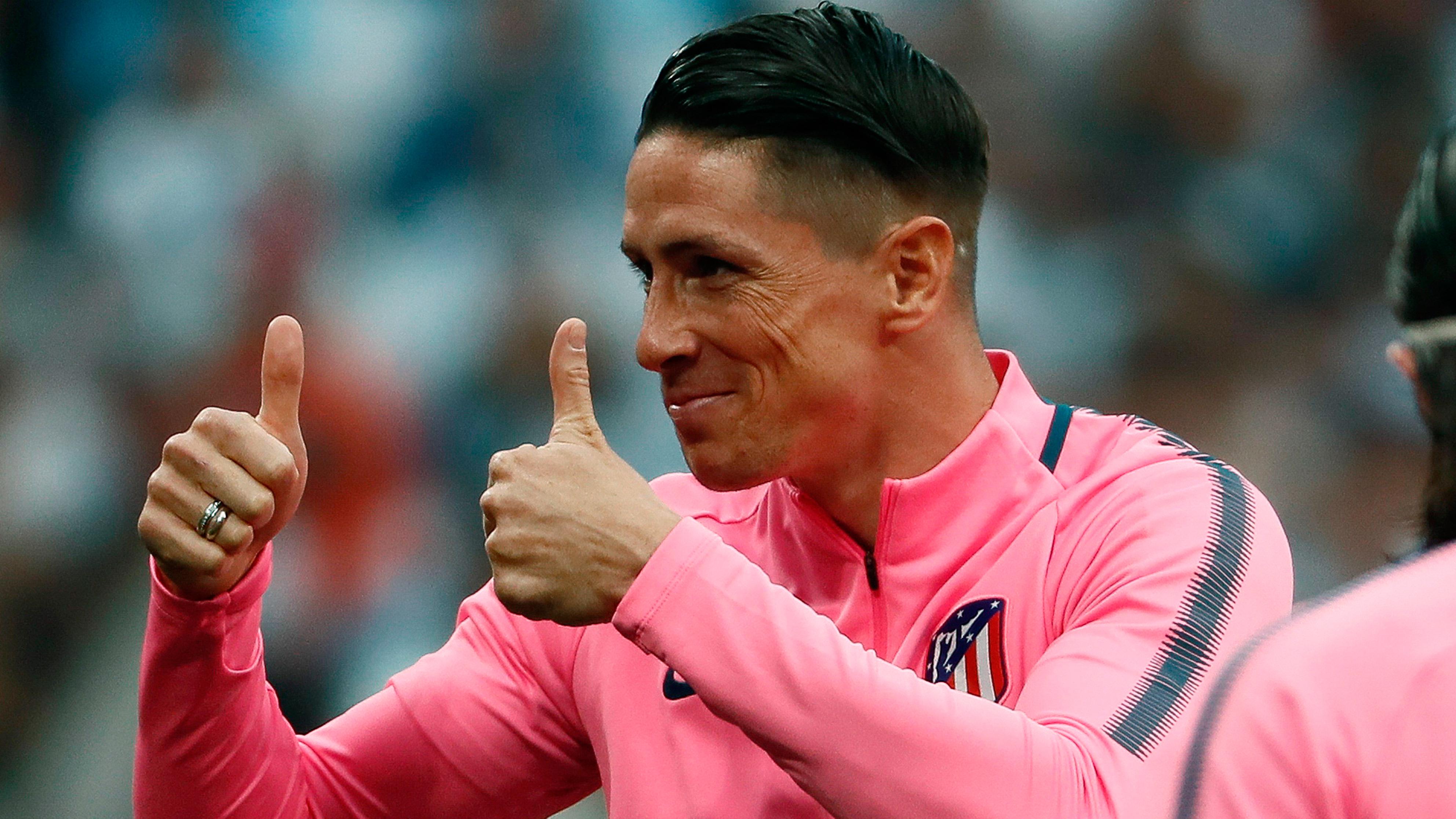 Fernando Torres, ídolo e inspiración para los niños de Fuenlabrada