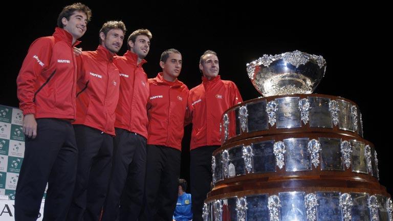 Ferrero abrirá la Davis 2012