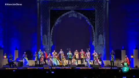 Atenciósn obras - Festival de Músicas Sagradas de Fez