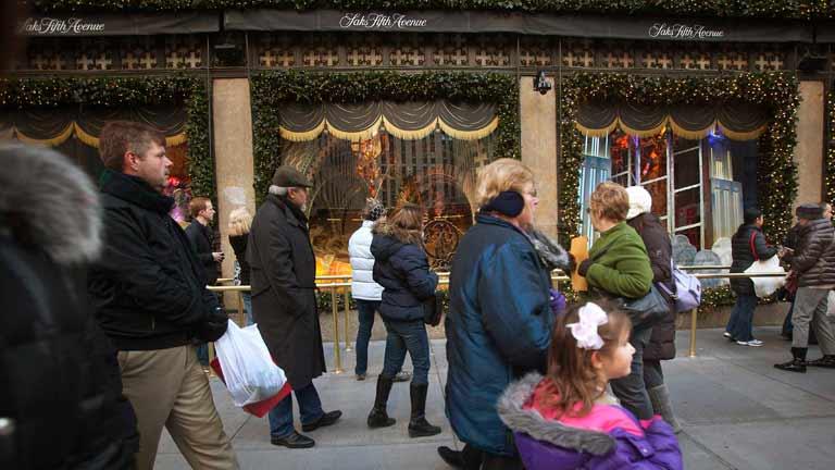 La fiebre de las compras protagoniza el 'Black Friday'