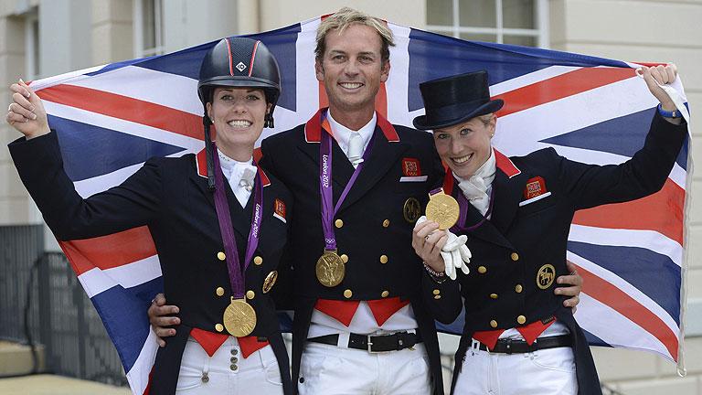 Fiebre del oro entre los aficionados británicos en Londres 2012
