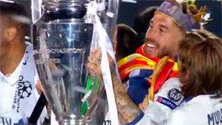 La fiesta madridista culmina en el Bernabéu