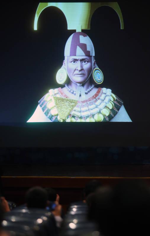 La figura del Señor de Sipán es comparada con la del faraón egipcio Tutankamón por su fastuosa tumba.