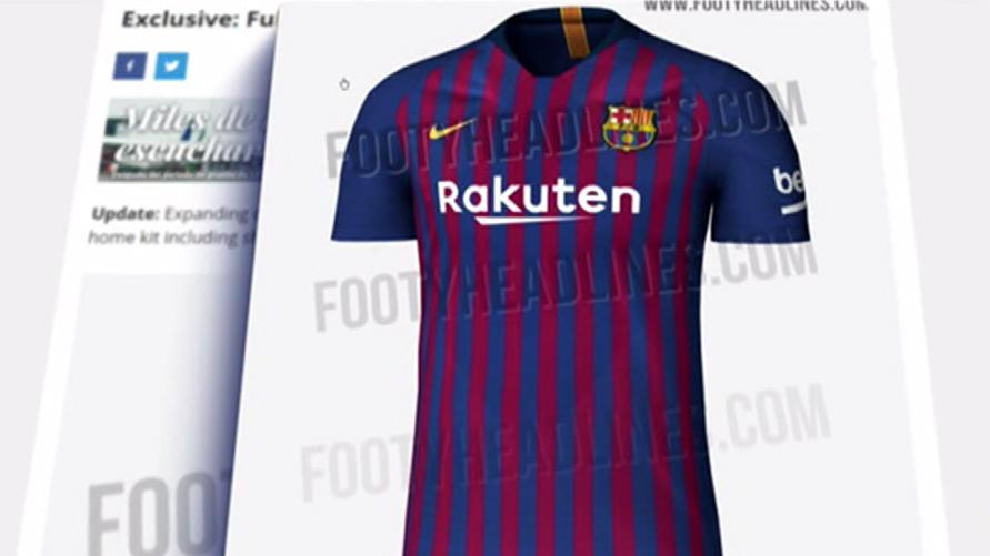 Filtran la camiseta del Barça para la próxima temporada