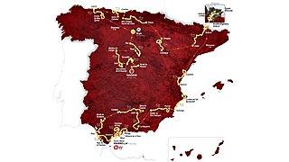 Los finales en alto vuelven a protagonizar el recorrido de la Vuelta para el 2015