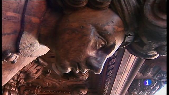 Finalitza la restauració del voladís de Cort, que data del segle XVII