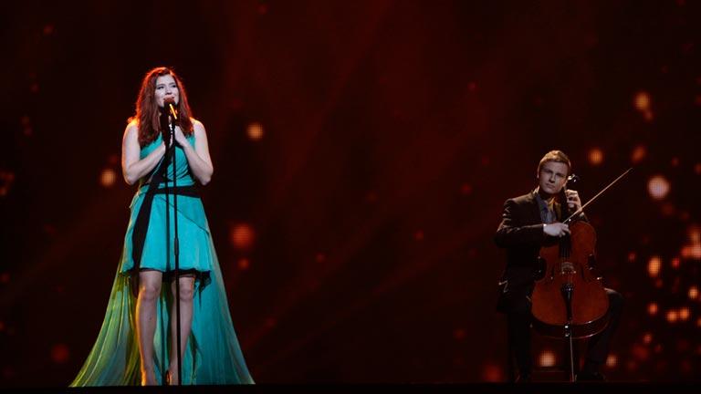 Finlandia Eurovisión 2012 - Pernilla Karlsson - 1ª semifinal