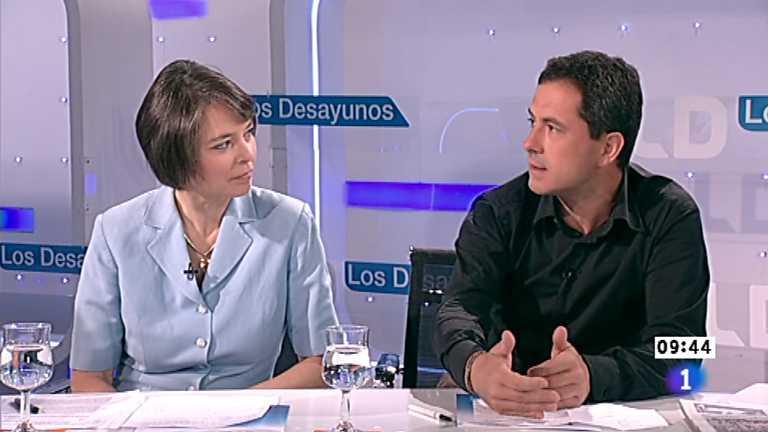 Los desayunos de TVE - Fiona Ortiz  y François Musseau, corresponsales de Reuter y de Libération