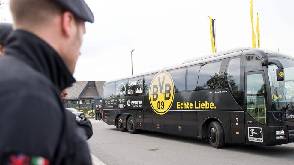 La Fiscalía alemana considera el ataque al Dortmund un atentado terrorista