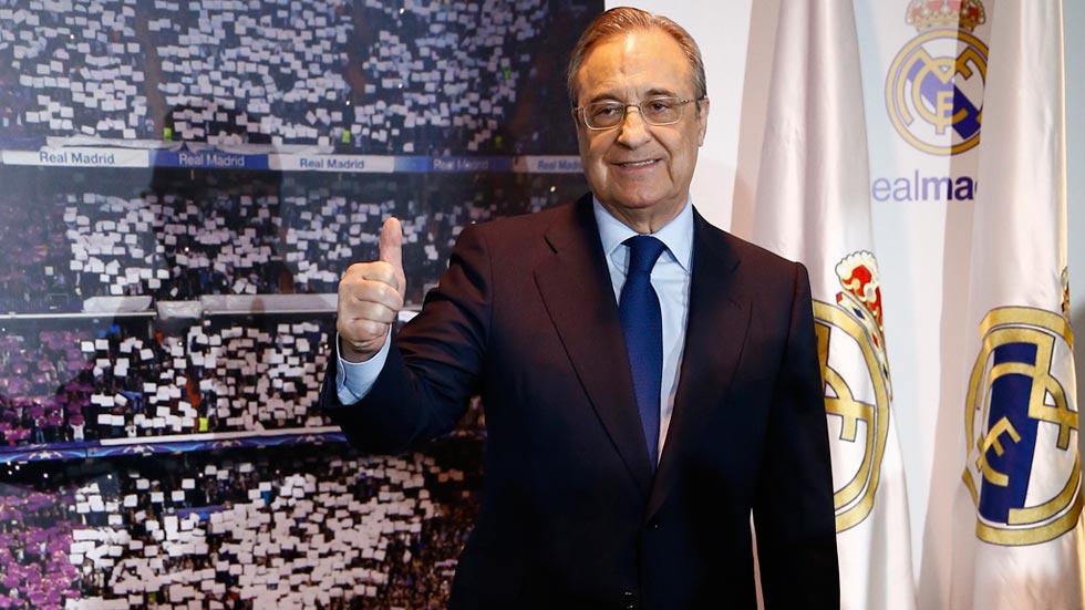 """Florentino apela a la unión para hacer un Madrid """"prácticamente indestructible"""""""