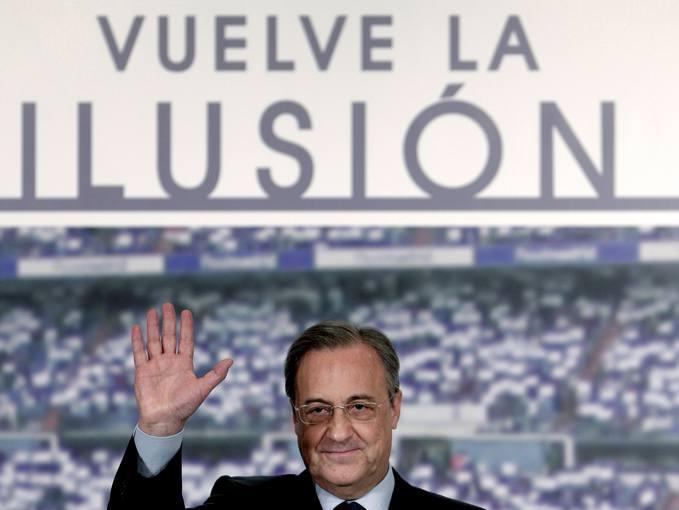 Florentino p rez un presidente con pasado - Tableros sanz madrid ...