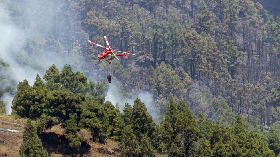 Los focos del subsuelo prolongarían un mes la extinción total en La Palma según los expertos