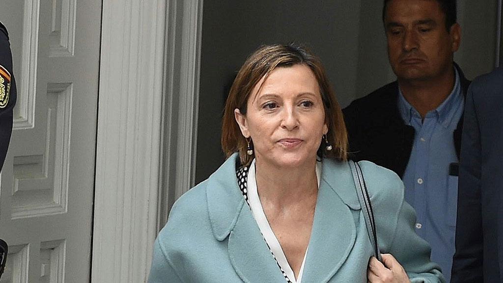 Forcadell, de activista de la ANC a presidenta del Parlament investigada por el proceso independentista