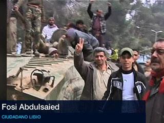"""Ver vídeo 'Fosu Abdulsaied: """"Gadafi es un perro herido que no va a dar marcha atrás""""'"""