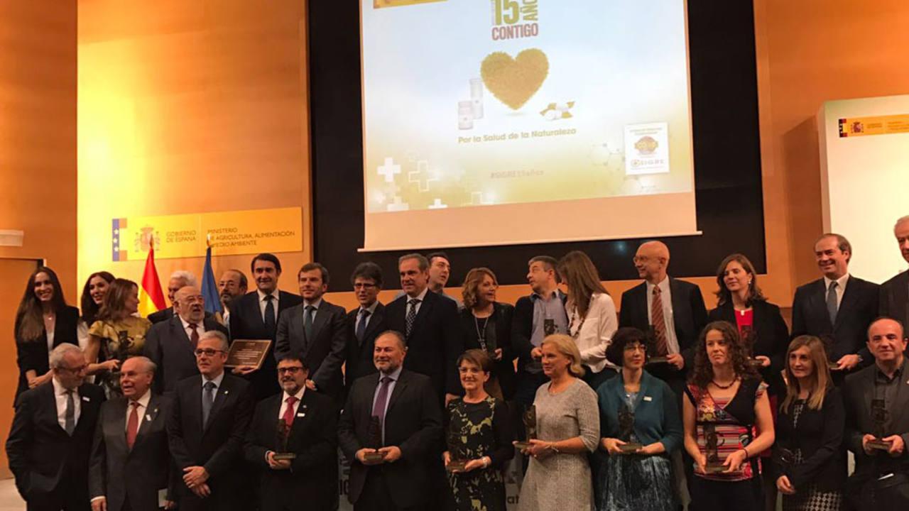 Foto de família , Premio SIGRE de Periodismo `Por la salud de la naturaleza¿