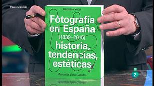 La Aventura del Saber. TVE. Libros recomendados. 'Fotografía en España (1839-2015)'