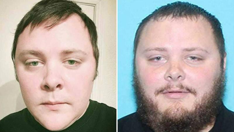 Fotografías difundidas por la Policía del autor de la matanza de Texas