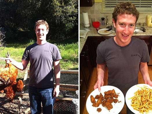Zuckerberg víctima de un fallo en su propia red social