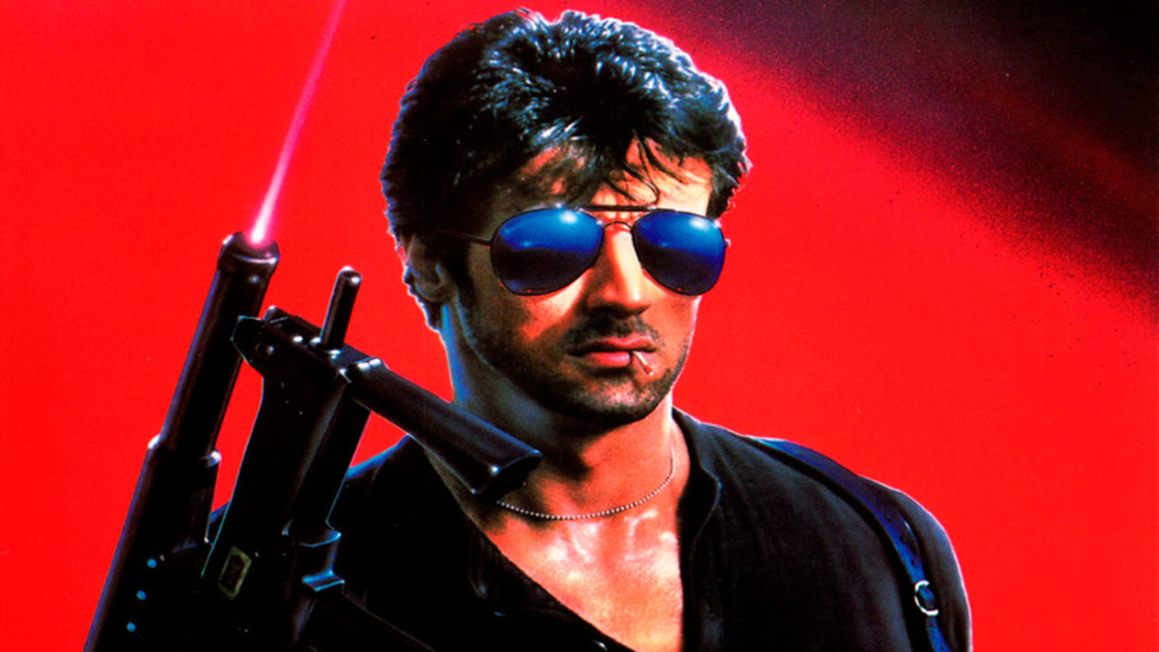 Fragmento del cartel de 'Cobra', protagonizada por Silvester Stallone