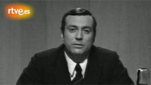 Fragmento de un Telediario de 1970