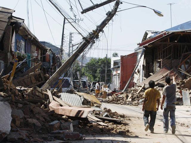 Fran Llorente - Terremoto en Chile